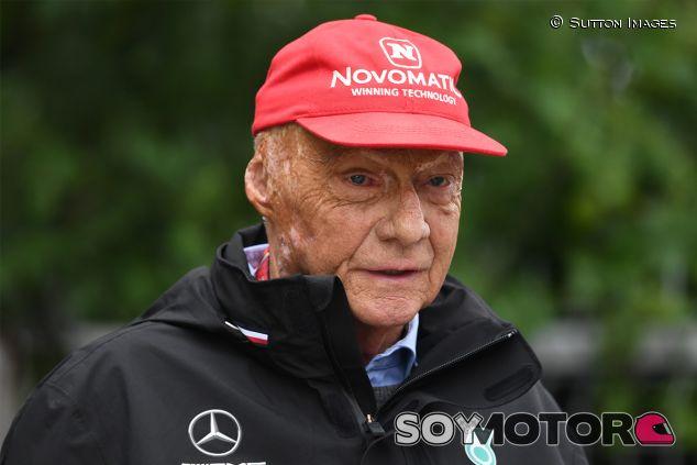 Niki Lauda en Shanghái - SoyMotor.com