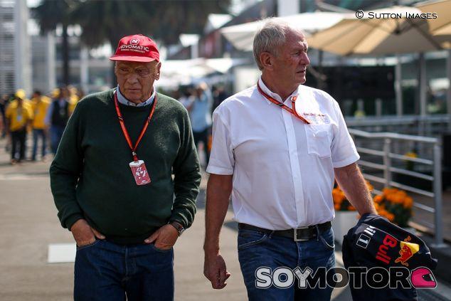 Niki Lauda y Helmut Marko en México - SoyMotor.com