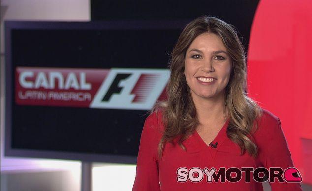 Nira Juanco en su nuevo canal para Latinoamérica - LaF1