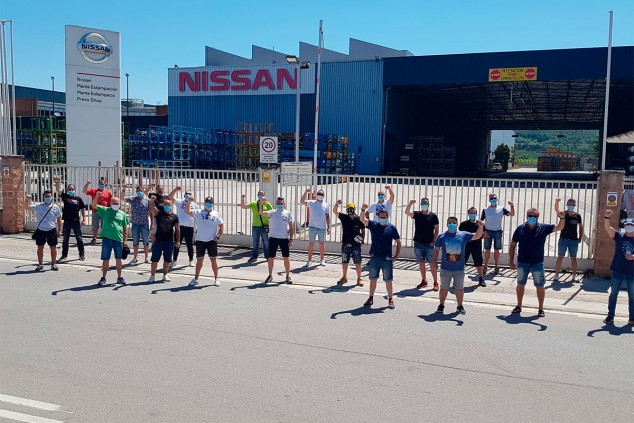 Fábrica de Nissan en Zona Franca, Barcelona - SoyMotor.com