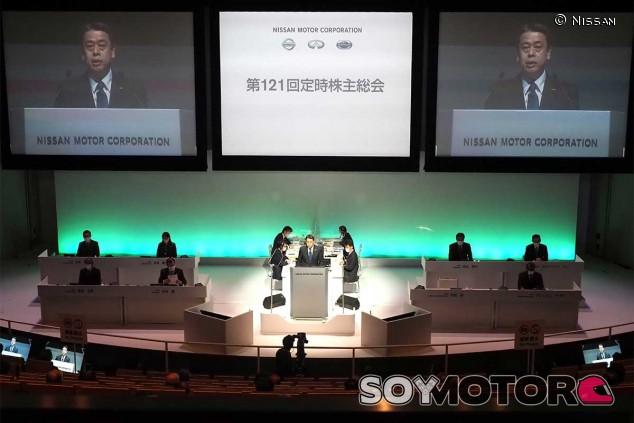 Junta de accionistas de Nissan - SoyMotor.com