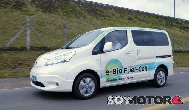Nissan e-NV200 e-bio fuel cell - SoyMotor