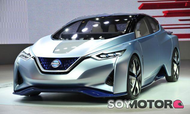 Gran parte del futuro eléctrico de Nissan queda representado en el Nissan IDS Concept - SoyMotor