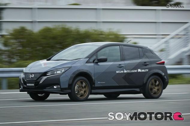 Nissan Leaf E+, un prototipo que esconde muchas sorpresas - SoyMotor.com