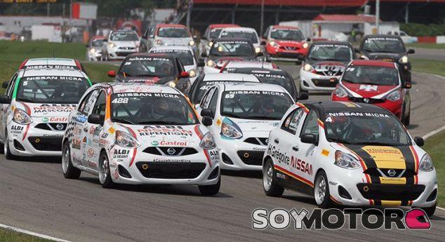 Salida de la Micra Cup – SoyMotor.com