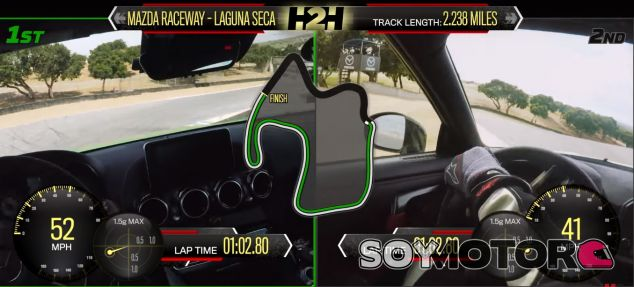 Nissan vs Mercedes - SoyMotor.com