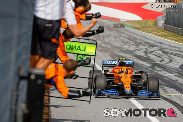 Las claves del paso adelante de McLaren en el GP de Austria - SoyMotor.com