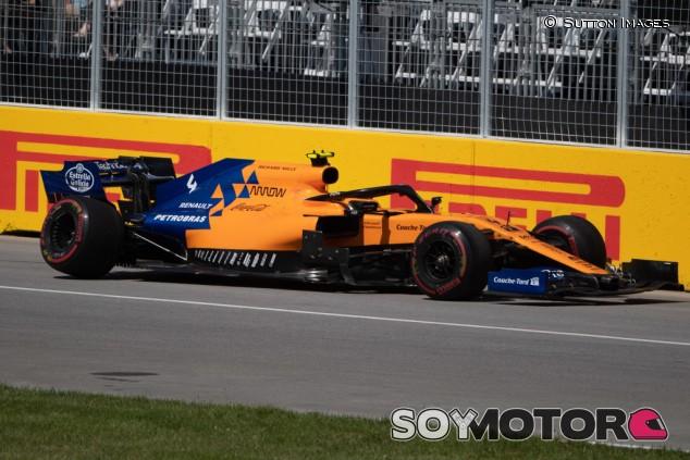 McLaren investigará el fallo en el coche de Norris en Canadá - SoyMotor.com