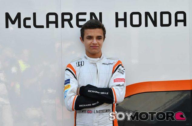 Lando Norris, probador y reserva de McLaren - SoyMotor