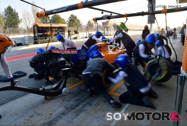 McLaren, Williams y Racing Point celebran un filming day conjunto - SoyMotor.com