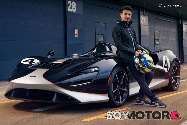 Lando Norris con el McLaren Elva - SoyMotor.com