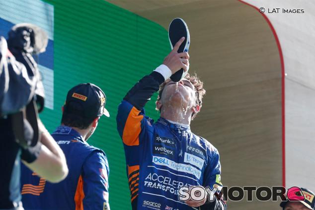"""Norris completa el doblete de McLaren: """"Hemos trabajado para esto"""" - SoyMotor.com"""