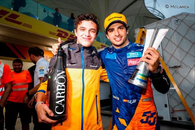 "Norris: ""Ayudé a Sainz porque fui lento, no por decisión propia"" - SoyMotor.com"