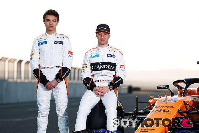 Lando Norris y Stoffel Vandoorne - SoyMotor.com
