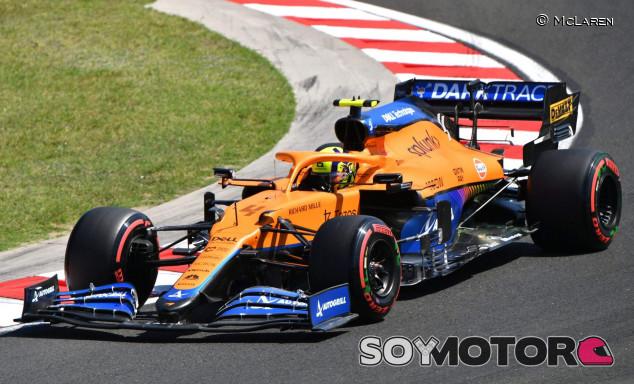 """Norris no se siente cómodo en los entrenamientos del GP de Hungría: """"No es ideal"""" - SoyMotor.com"""