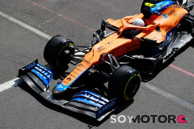 ¿Norris en la Pole? El británico se quedó a la misma décima que Verstappen con medios - SoyMotor.com