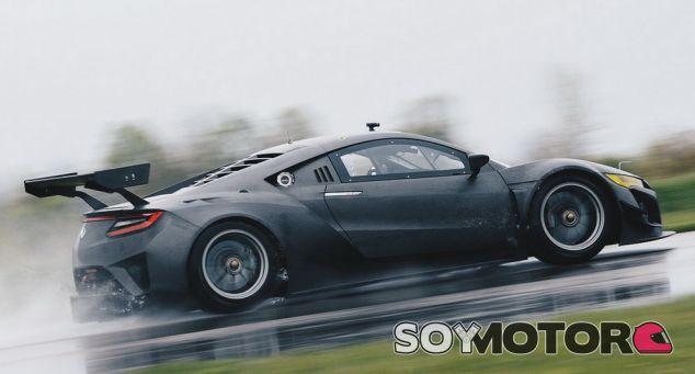 Honda NSX GT3 de carreras y sin sistema híbrido -SoyMOTOR