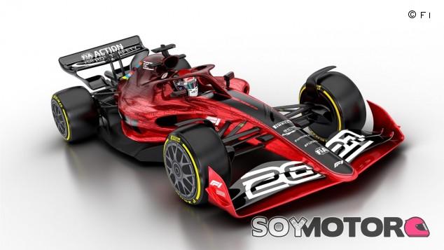 Concepto de los monoplazas para 2022 - SoyMotor.com