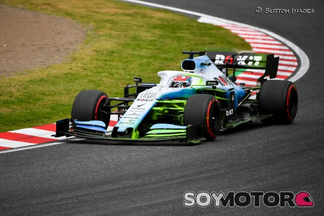 George Russell en el GP de Japón F1 2019 - SoyMotor.com
