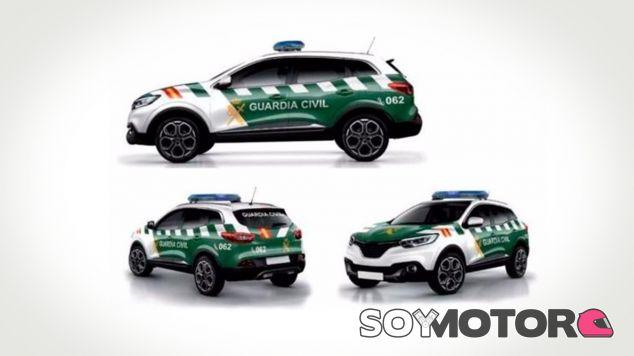Así serán los coches de la Guardia Civil en 2018 - SoyMotor.com