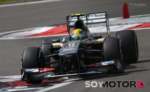 Sauber en el GP de Alemania F1 2013: Domingo