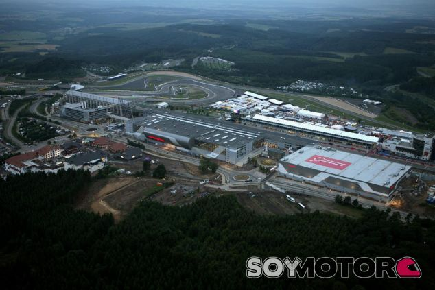 Vista aérea del Circuito de Nürburgring - LaF1