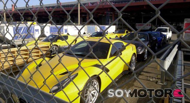 Algunos de los coches incautados - SoyMotor.com