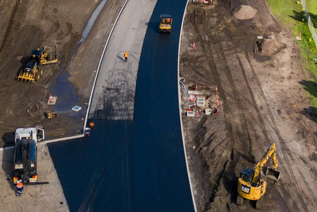 Así van las obras de Albert Park: adiós a la chicane de las curvas 9 y 10 - SoyMotor.com