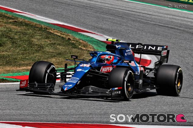 Alpine confirma el cambio de chasis de Ocon para Silverstone - SoyMotor.com