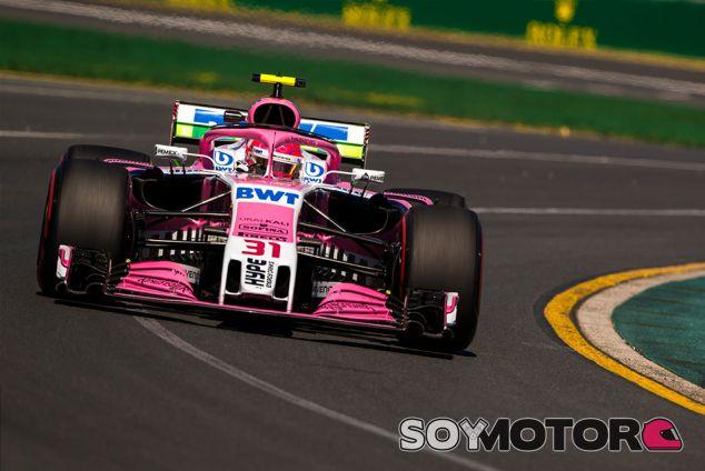 Esteban Ocon en Australia - SoyMotor.com