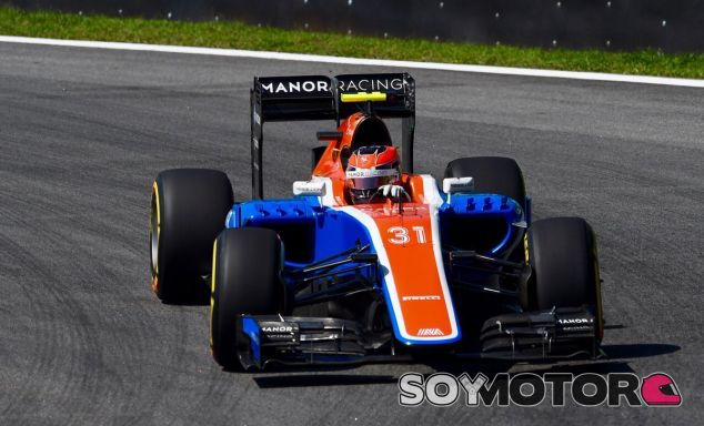 Ocon durante el GP de Brasil - LaF1
