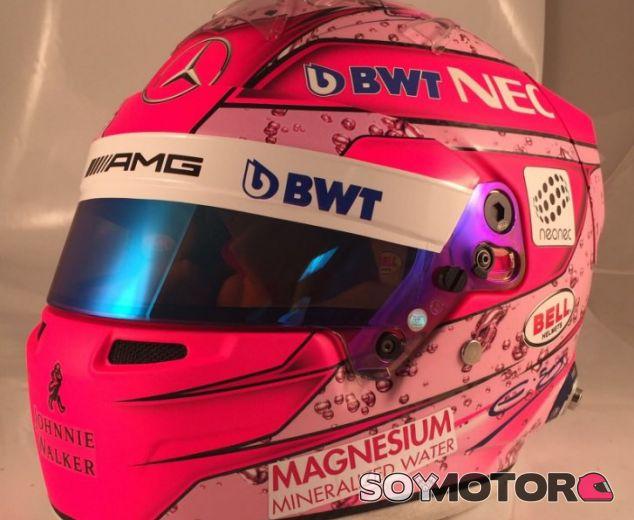 Casco de Esteban Ocon para la temporada 2017 - SoyMotor
