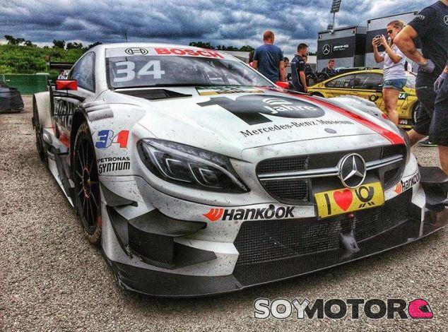 El coche de Ocon en el DTM - LaF1