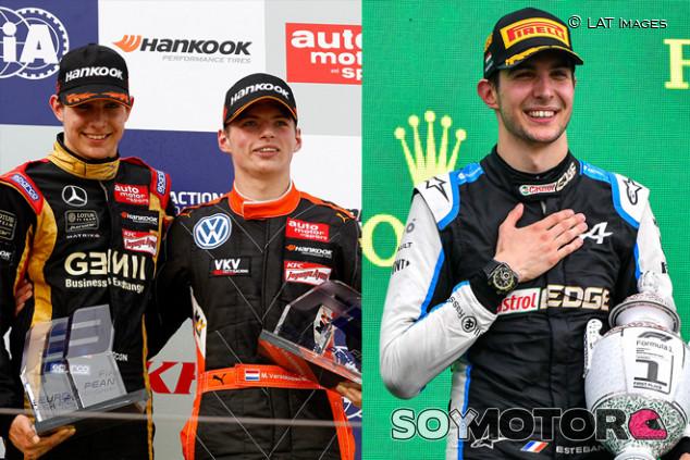 Esteban Ocon: de batir a Verstappen en F3 a hacer historia en Hungría - SoyMotor.com