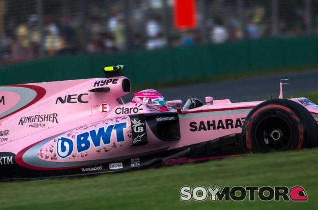 Esteban Ocon puntuó en su primer Gran Premio con Force India - SoyMotor