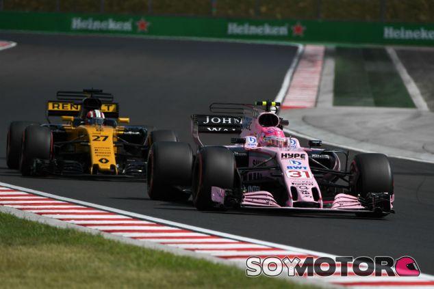 Force India en el GP de Hungría F1 2017: Viernes - SoyMotor.com