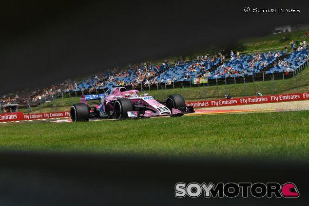 Esteban Ocon en el GP de Hungría - SoyMotor