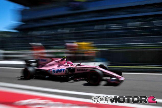 Force India en el GP de Rusia F1 2017: Sábado - SoyMotor
