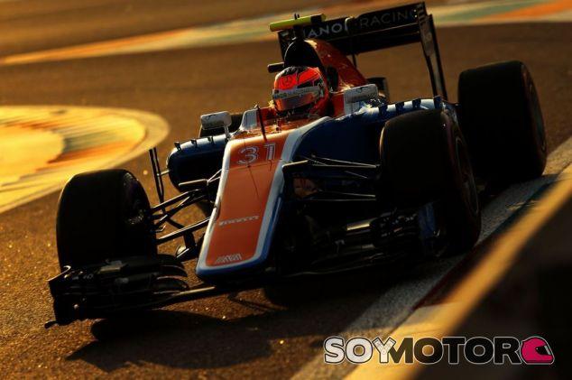 Ocon termina su corta etapa en Manor - SoyMotor
