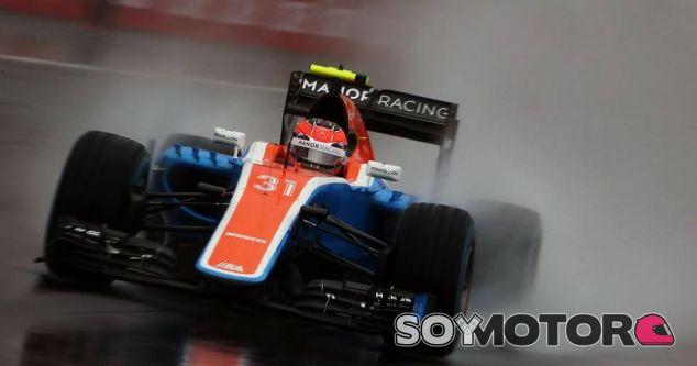 Ocon, durante la carrera en el GP de Brasil - LaF1