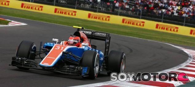 Ocon durante el GP de México - LaF1