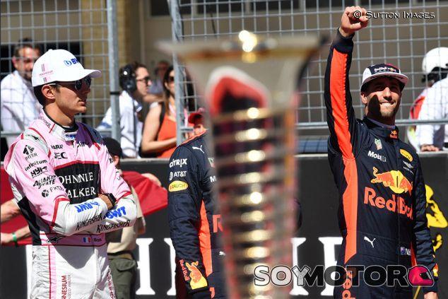 Esteban Ocon y Daniel Ricciardo en Austin - SoyMotor.com