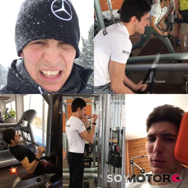 La pretemprada de Ocon le hace ganar 5 kilos de masa muscular - SoyMotor