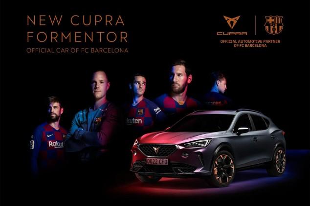 Cupra Formentor, coche oficial del F.C. Barcelona - SoyMotor.com