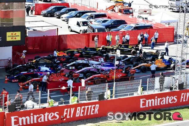 Monoplazas de 2019 en el Circuit de Barcelona-Catalunya - SoyMotor
