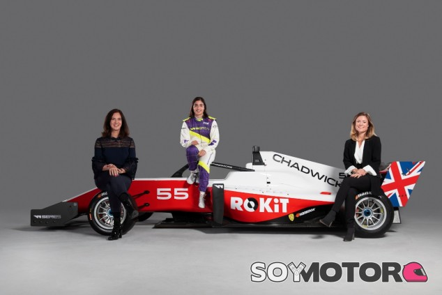 OFICIAL: ROKiT, patrocinador principal de las W Series - SoyMotor.com