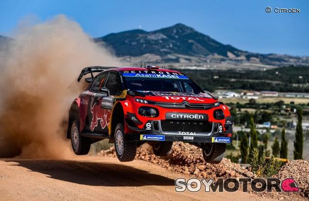Rally Italia 2019: doblete de Citroën para empezar - SoyMotor.com