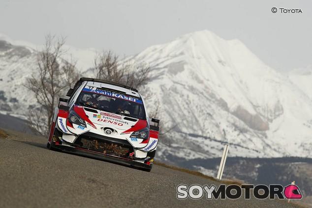 Ogier 'estrena' el Toyota: líder en el Shakedown de Montecarlo  - SoyMotor.com