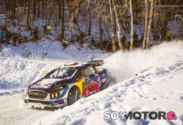 Ogier durante el segundo día del Rally de Montecarlo - SoyMotor