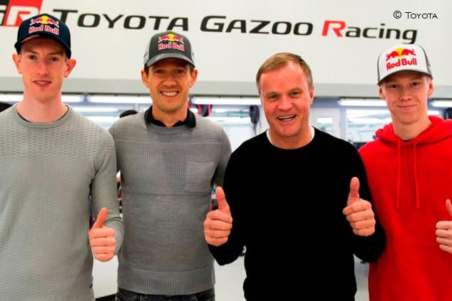 OFICIAL: Toyota se renueva con el fichaje de Sébastien Ogier - SoyMotor.com